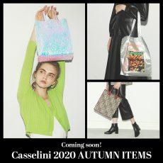 【Topick】Coming soon! Casselini 2020 AUTUMN ITEMS