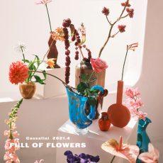 【Casselini】FULL OF FLOWERS